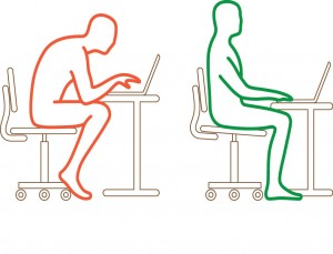 Red to Green Sitting Figures